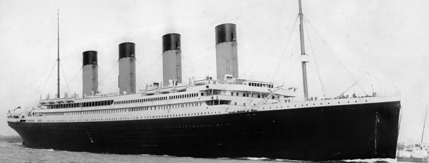Titanic, Scialuppe e Sicurezza Lavoro