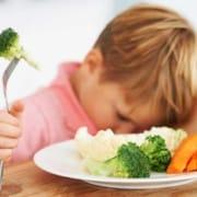 Sapresti far mangiare la verdura a un bambino?